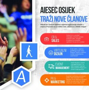 AIESEC Osijek traži nove članove!
