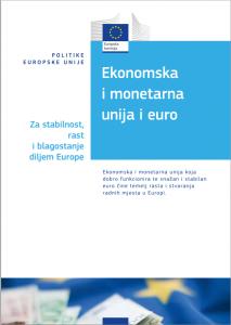 Ekonomska i monetarna unija i euro