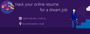 Online Resume radionica